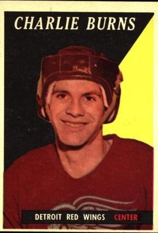 1958-59 Topps #43 Charlie Burns RC