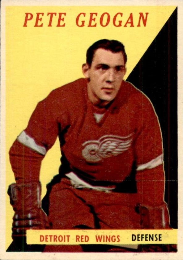 1958-59 Topps #47 Pete Goegan RC
