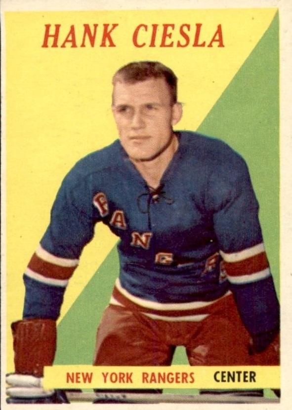 1958-59 Topps #49 Hank Ciesla RC