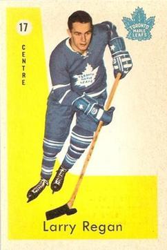 1959-60 Parkhurst #17 Larry Regan