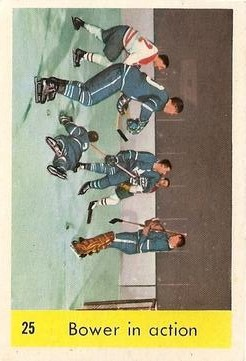 1959-60 Parkhurst #25 Johnny Bower IA