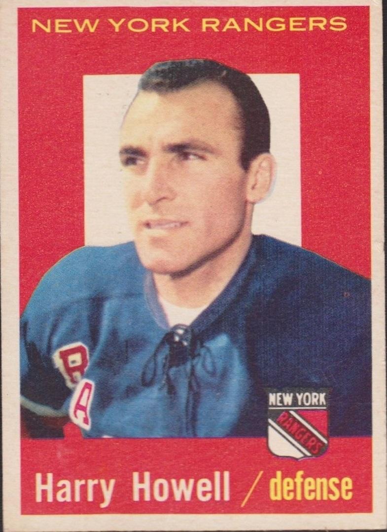 1959-60 Topps #20 Harry Howell