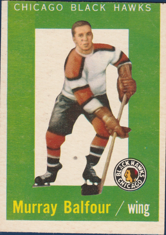 1959-60 Topps #33 Murray Balfour RC