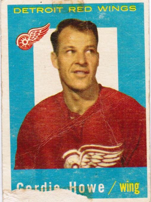 1959-60 Topps #63 Gordie Howe