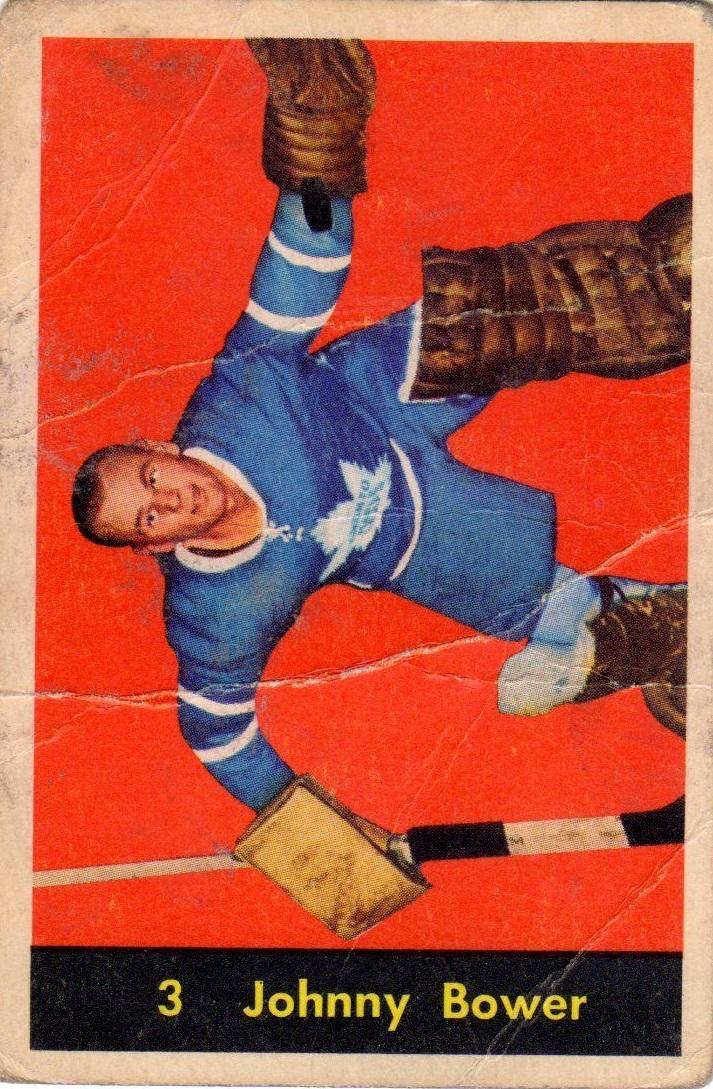 1960-61 Parkhurst #3 Johnny Bower