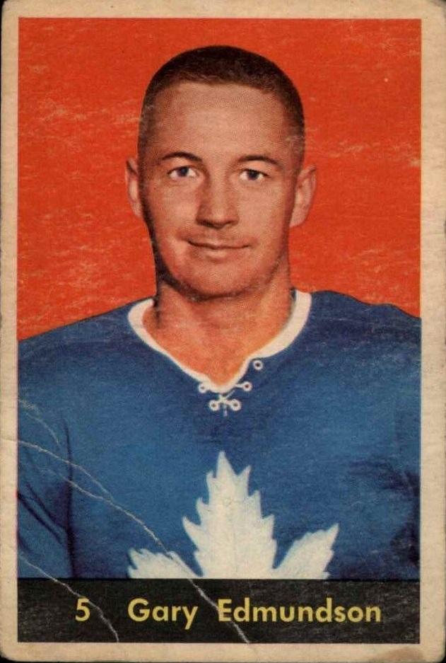 1960-61 Parkhurst #5 Gary Edmundson