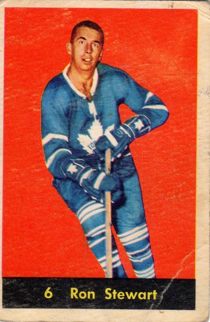 1960-61 Parkhurst #6 Ron Stewart