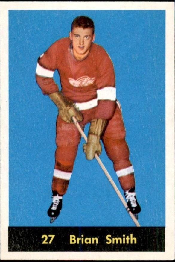 1960-61 Parkhurst #27 Brian Smith RC