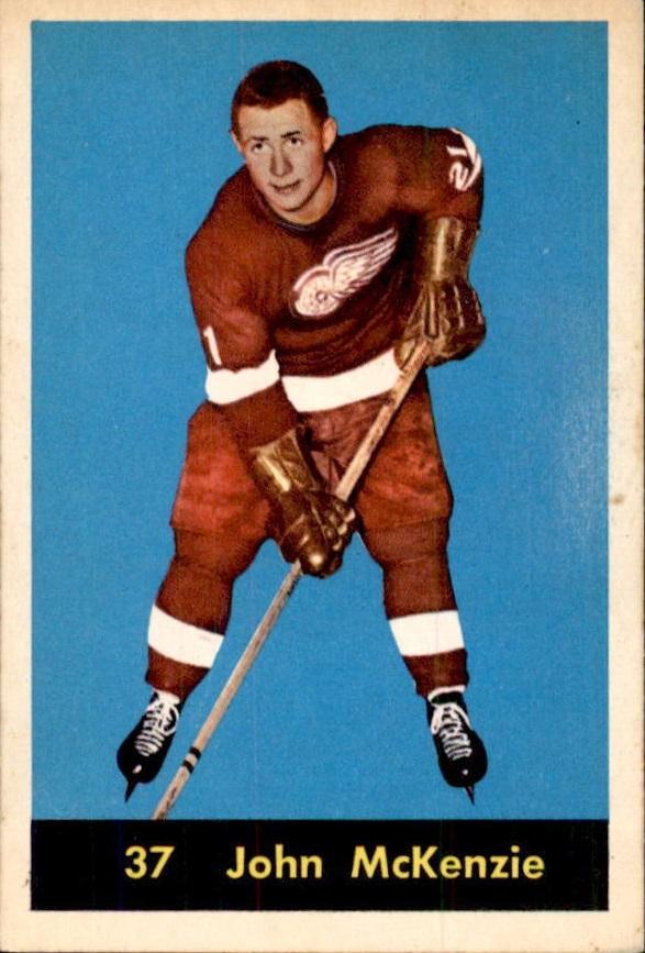 1960-61 Parkhurst #37 John McKenzie RC