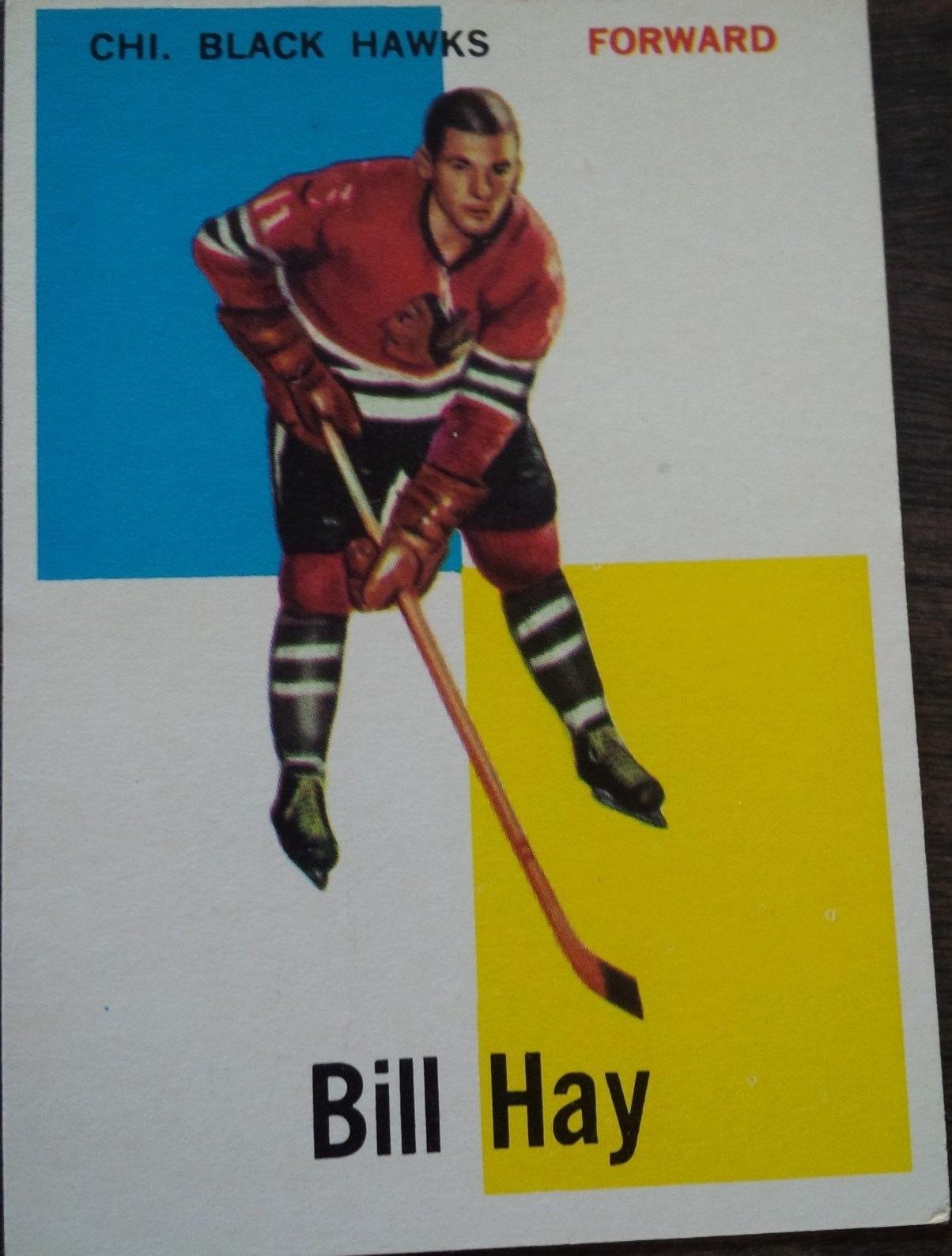 1960-61 Topps #6 Bill Hay RC