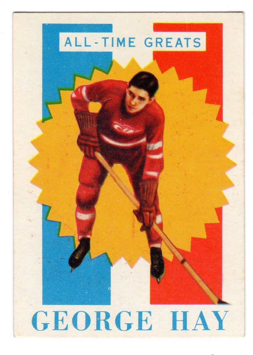 1960-61 Topps #15 George Hay ATG RC