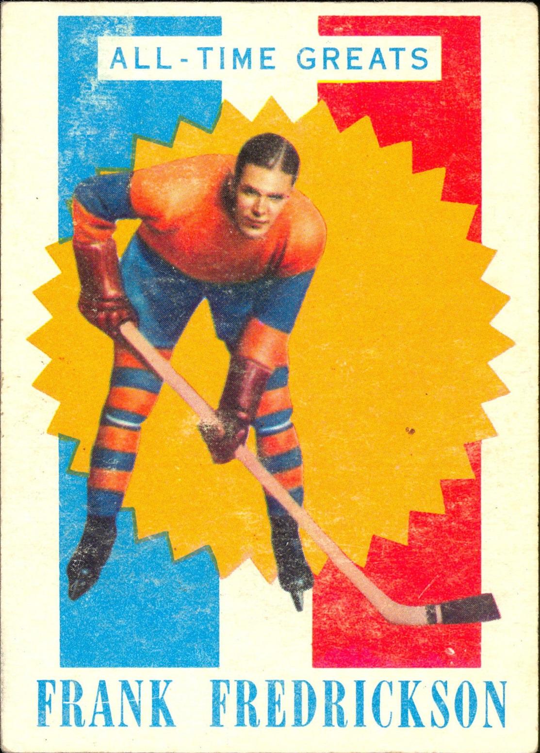 1960-61 Topps #34 Frank Fredrickson ATG RC