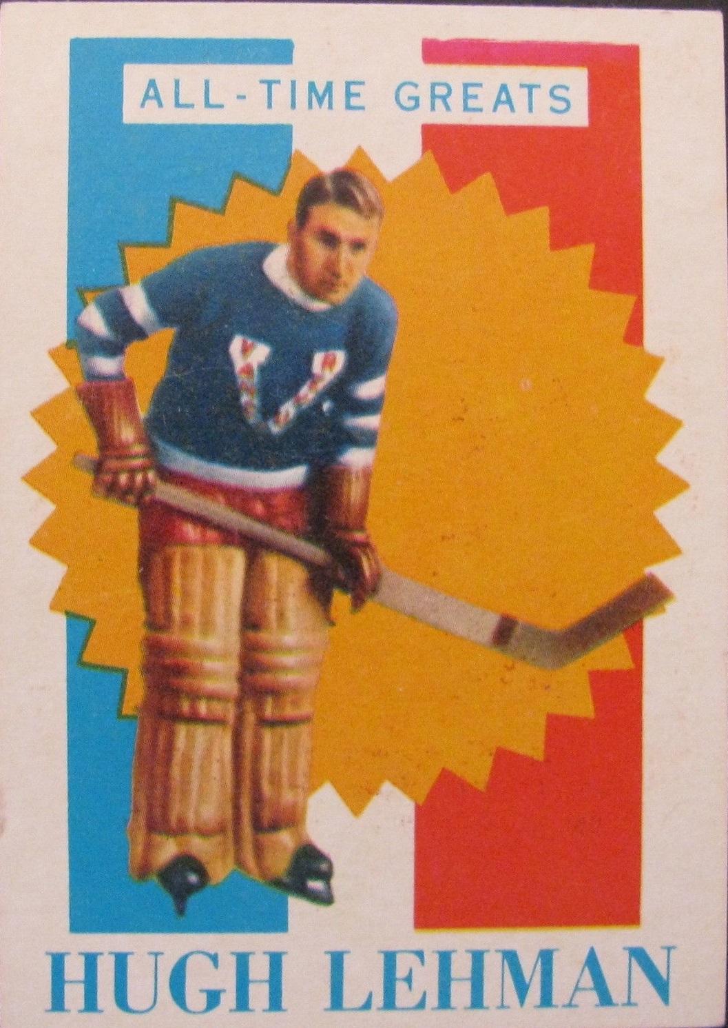 1960-61 Topps #38 Hugh Lehman ATG RC