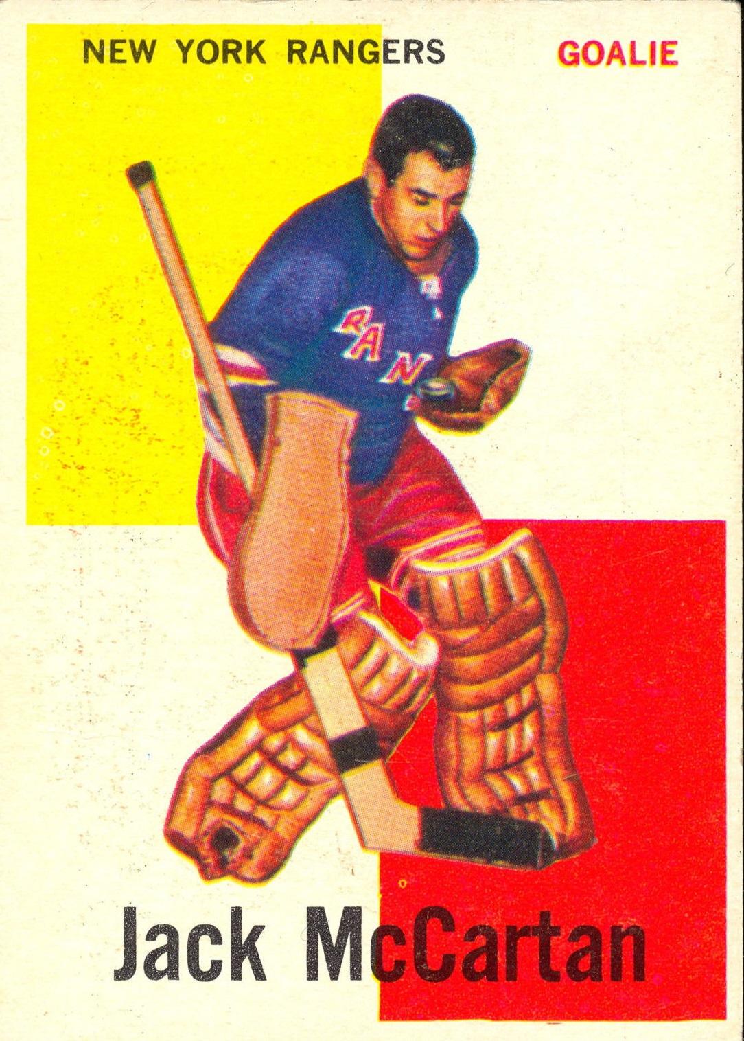 1960-61 Topps #39 Jack McCartan RC