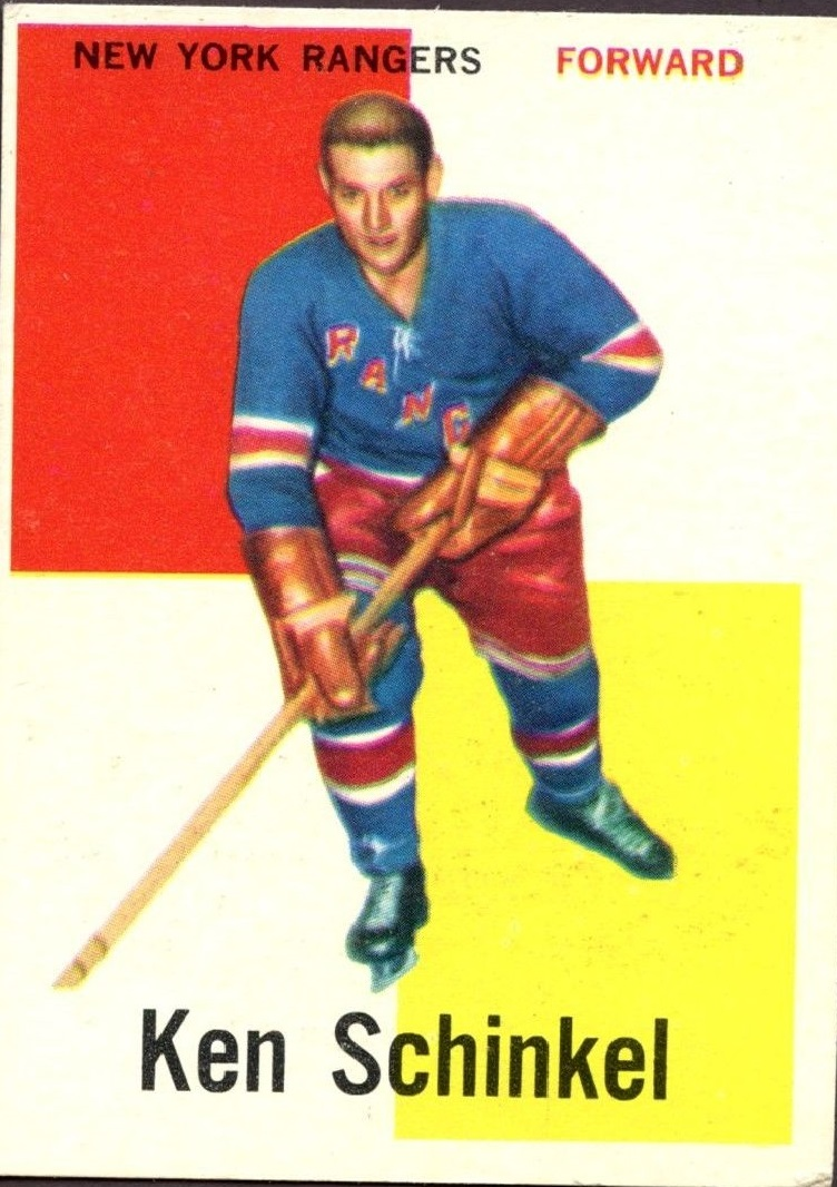 1960-61 Topps #50 Ken Schinkel RC