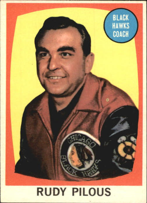 1961-62 Topps #23 Rudy Pilous CO RC