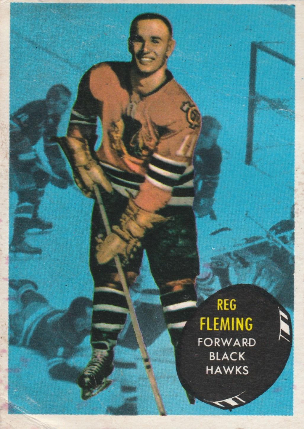 1961-62 Topps #26 Reg Fleming RC