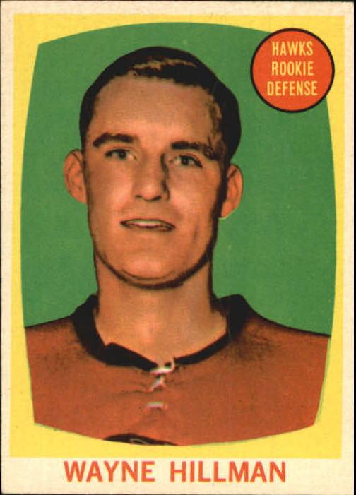 1961-62 Topps #38 Wayne Hillman RC