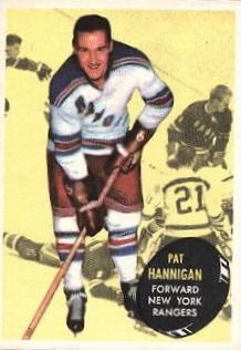 1961-62 Topps #58 Pat Hannigan RC