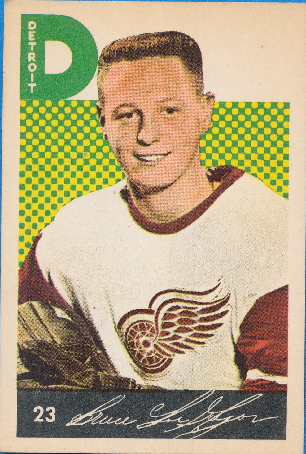 1962-63 Parkhurst #23 Bruce MacGregor RC