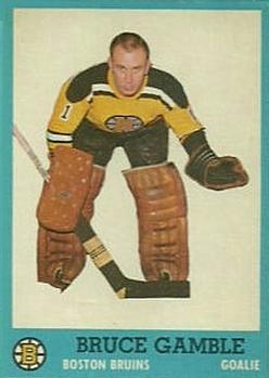 1962-63 Topps #3 Bruce Gamble RC