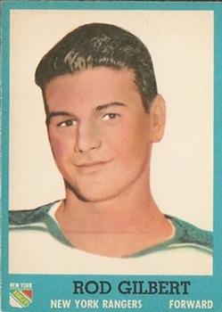 1962-63 Topps #59 Rod Gilbert
