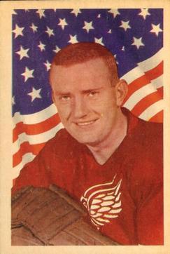 1963-64 Parkhurst #60 Doug Barkley RC