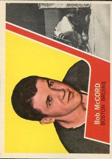 1963-64 Topps #6 Bob McCord RC