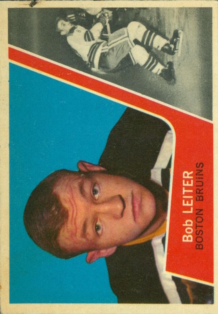 1963-64 Topps #14 Bob Leiter RC