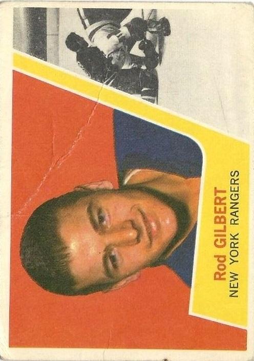 1963-64 Topps #57 Rod Gilbert