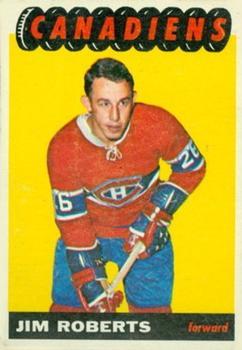 1965-66 Topps #74 Jim Roberts RC
