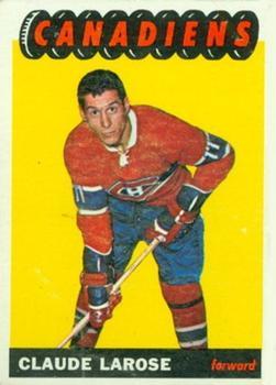 1965-66 Topps #75 Claude Larose RC