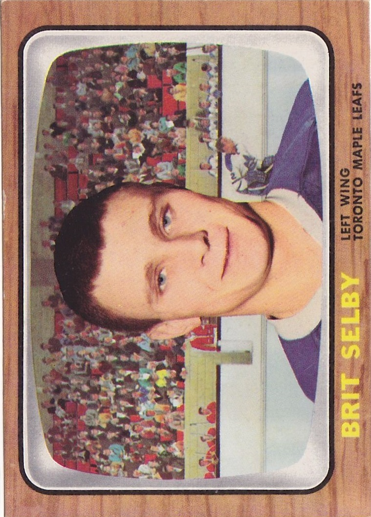 1966-67 Topps #18 Brit Selby RC