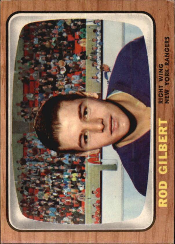1966-67 Topps #26 Rod Gilbert