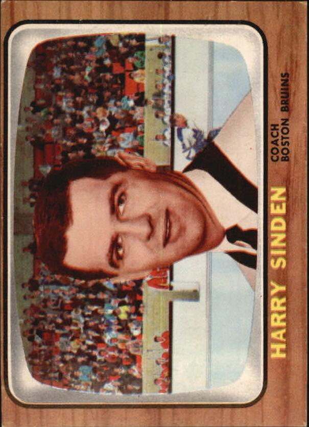 1966-67 Topps #31 Harry Sinden CO RC
