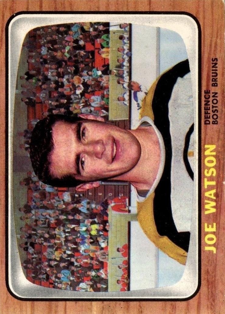 1966-67 Topps #33 Joe Watson RC