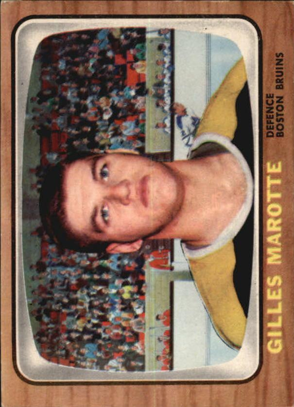 1966-67 Topps #36 Gilles Marotte RC