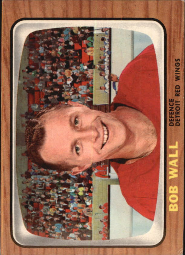 1966-67 Topps #49 Bob Wall RC