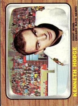 1966-67 Topps #114 Ken Hodge