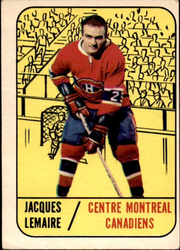1967-68 Topps #3 Jacques Lemaire RC