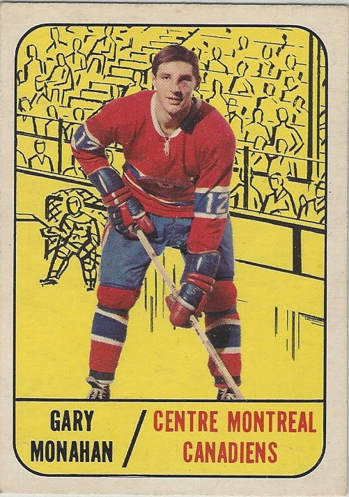 1967-68 Topps #8 Garry Monahan RC