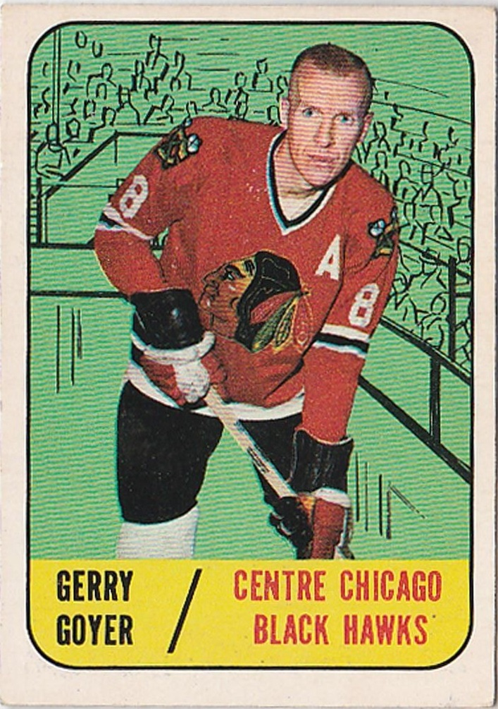 1967-68 Topps #54 Gerry Goyer RC