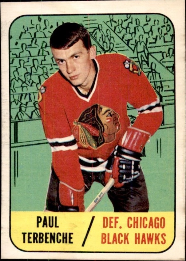 1967-68 Topps #58 Paul Terbenche RC