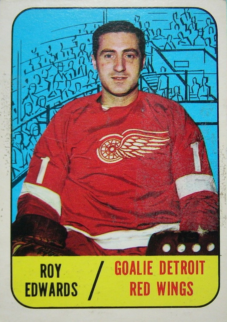 1967-68 Topps #106 Roy Edwards RC