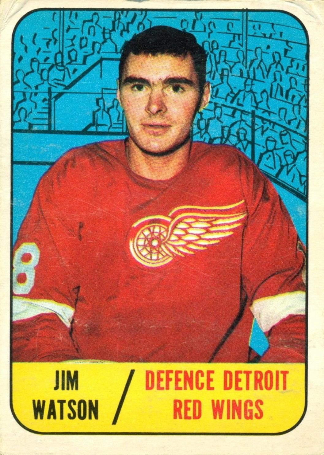 1967-68 Topps #107 Jim Watson RC