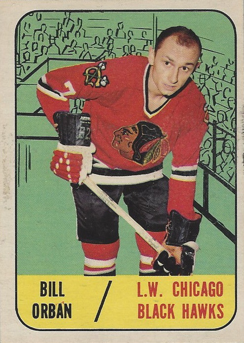 1967-68 Topps #109 Bill Orban RC