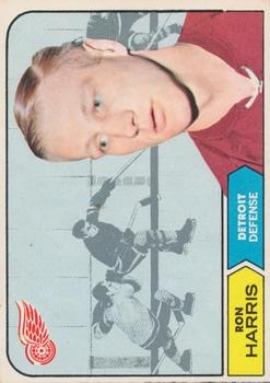 1968-69 O-Pee-Chee #27 Ron Harris RC