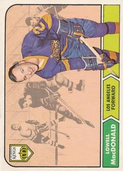1968-69 O-Pee-Chee #42 Lowell MacDonald RC