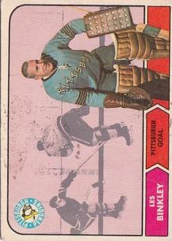 1968-69 O-Pee-Chee #100 Les Binkley RC