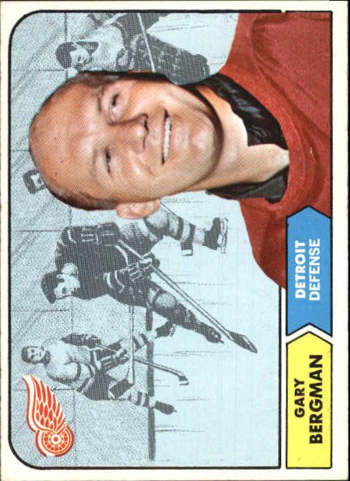 1968-69 Topps #25 Gary Bergman